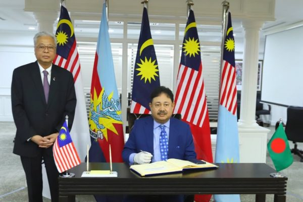 H.E. High Commissioner's call on the Malaysian Defence Minister